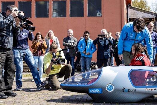 Ruiten van Ecorunner VII Universiteitsteam Delft